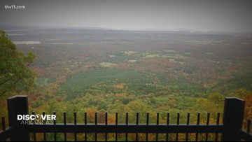 Discover Arkansas: THV11 takes on the fall foliage scenes at Mount Nebo