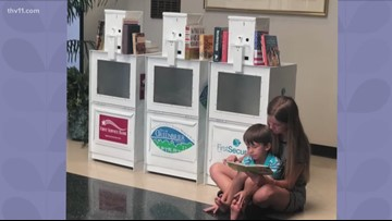 Greenbrier student starts free 'tiny library' program for the community