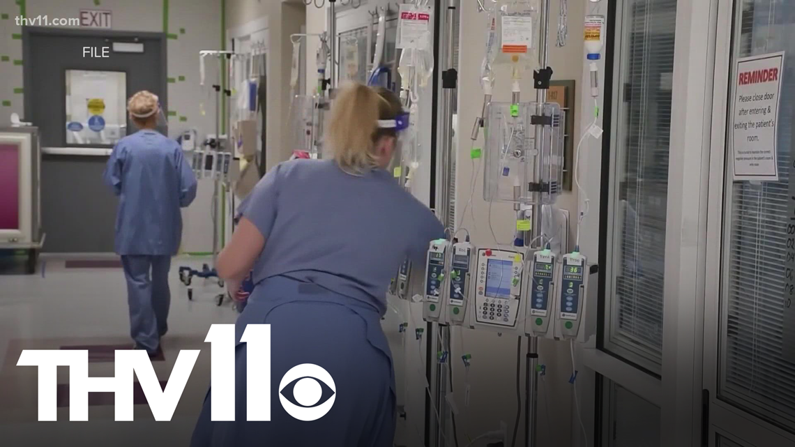 Arkansas hospitals running out of room for patients