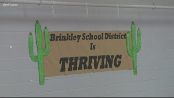 Brinkley students show off their love of reading during Reading Roadtrip