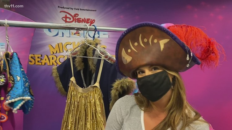 Behind the scenes of Disney on Ice at Simmons Bank Arena