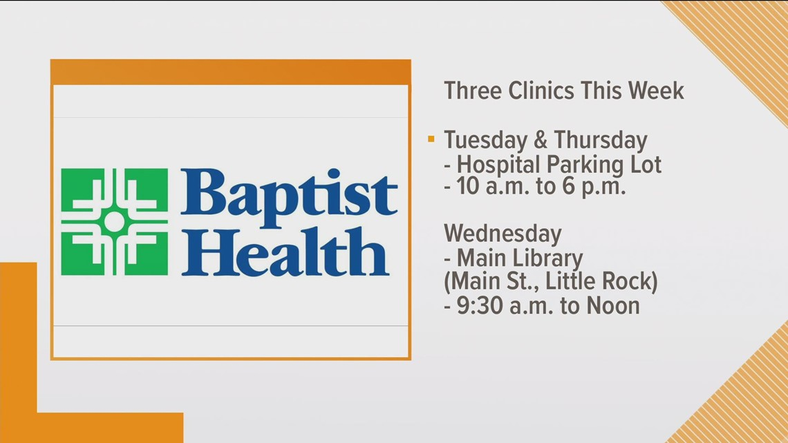 Johnson & Johnson vaccine clinics happening in Little Rock