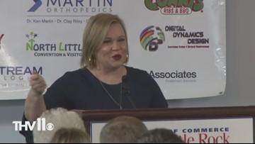 Holly Rowe speaks to NLR tip-off club