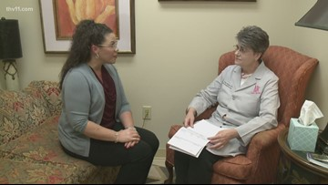 Nurse and mother of four finds cancer after delaying mammogram