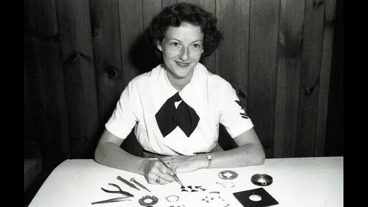 Ralph Halverson's wife, also a Navy photographer