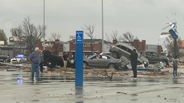 Tornado tears through Jonesboro, leaves extensive damage