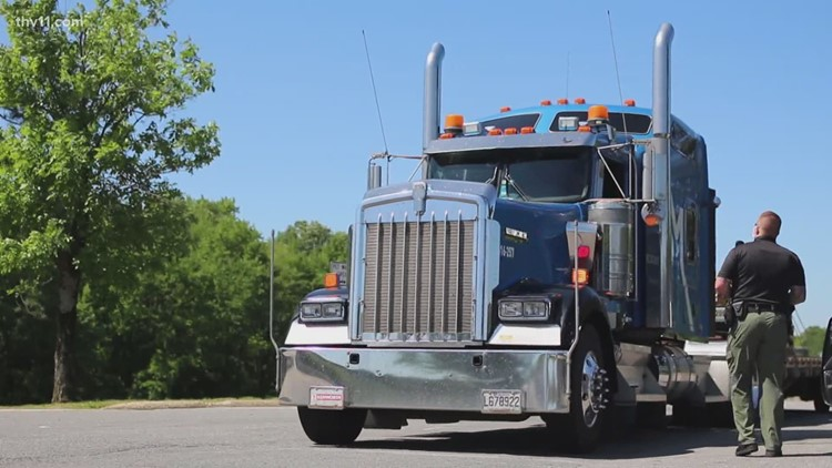 As Arkansas sees truck driver shortage, companies offer incentives