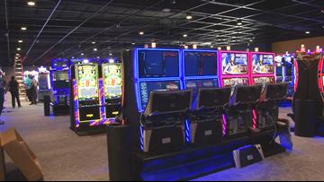 Taking a sneak peek into the Saracen Casino Annex in Pine Bluff