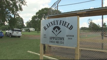 Man revitalizes run down ballpark into Arkansas field of dreams