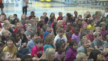 Don Roberts Elementary learns all about diversity from a one-eyed puppy