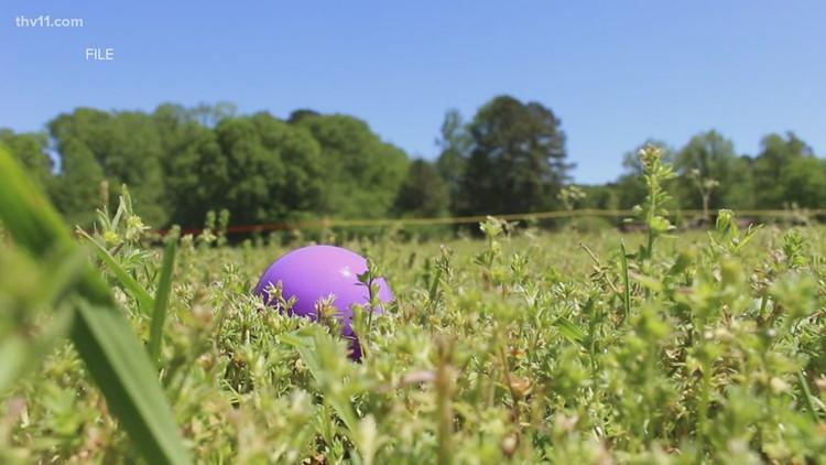 Easter weekend around central Arkansas
