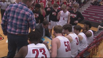 Cabot beats NLR on senior night 65-54