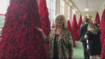 Arkansas florist helps decorate White House