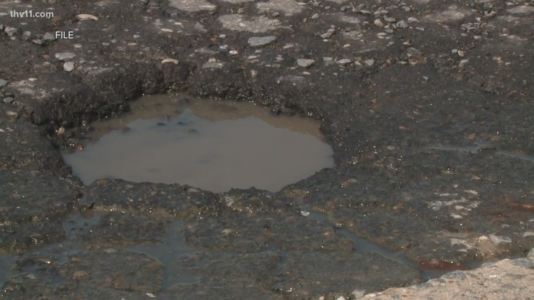 How you can help get potholes fixed in Arkansas