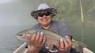 Group of Arkansas female veterans find therapy in fishing on Little Red River