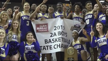Boys 2A State Championship | England vs. Clarendon
