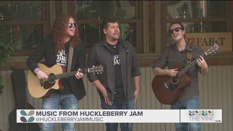 Huckleberry Jam performs original song 'Break My Heart Again'
