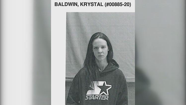 Krystal Baldwin mugshot