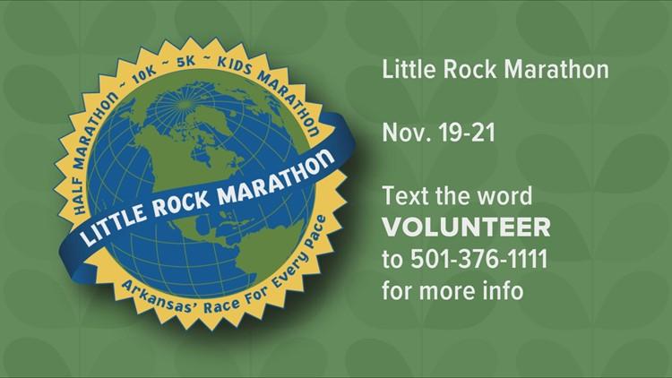 Volunteers needed for Little Rock Marathon