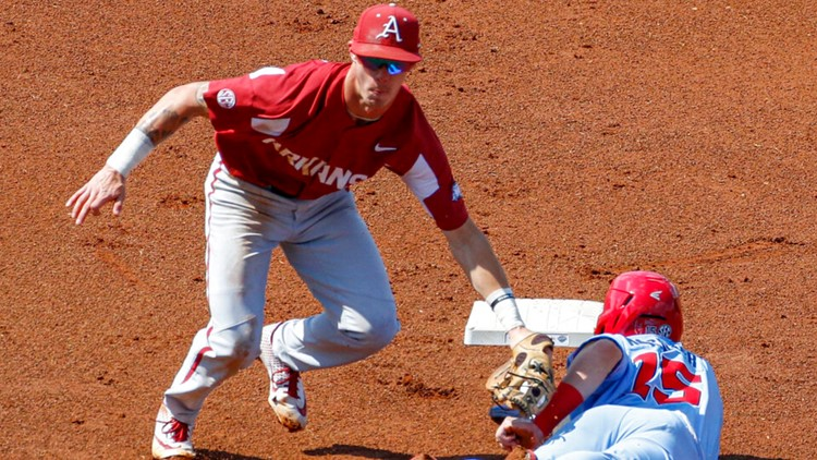 Ole Miss eliminates Arkansas from SEC Tournament with late rally