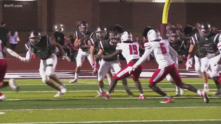 Benton defeats Parkview 30-23