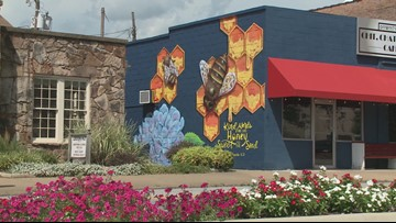 Searcy artist booked months in advance to paint murals was once too afraid to start