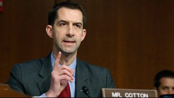 Sen. Cotton backs President Trump's claims that soldiers injured in Iran attack had 'headaches'