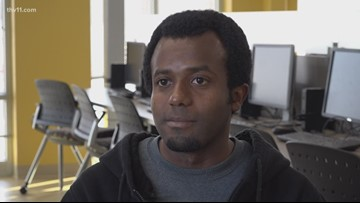 'Failure is not the final thing': UAPB student travels from Tanzania to fulfill dreams