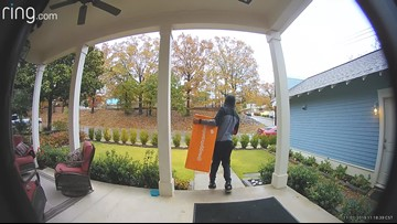 Putting porch pirates to a stop before they get to your door