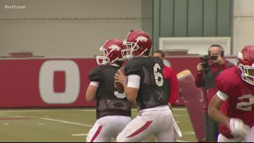 Hicks and the Hog offense ready for Red-White game