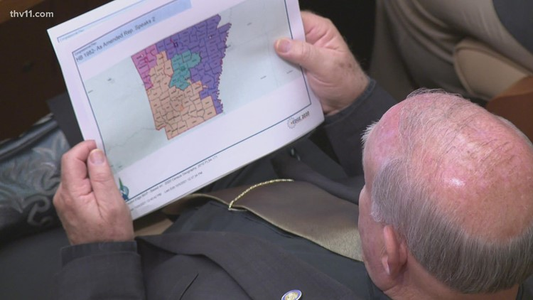 Arkansas redistricting map that splits biggest county among 3 districts to become law