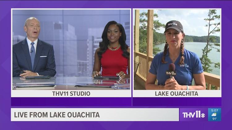 Dawn Scott at Lake Ouachita