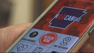 Narcansas app to get public involved in reducing overdose deaths in state