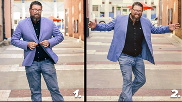 Adam Bledsoe needs your help to enter Shaq's Big & Tall model search!