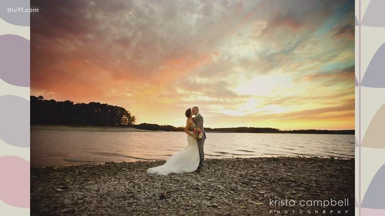 Mountain Harbor Resort and Spa has beautiful lakeside wedding venues