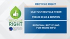 Recycle Right Tips   Week Forty-eight