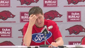 Eric Musselman previews Mississippi State part III.