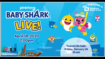 Baby Shark Live! at Simmons Bank Arena rescheduled due to coronavirus
