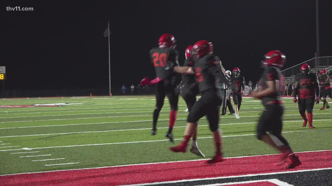 Maumelle rebounds with 35-17 win over Beebe