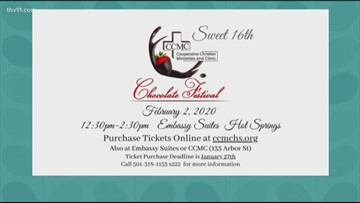 Enjoy some delicious treats at the Sweet 16th Chocolate Festival