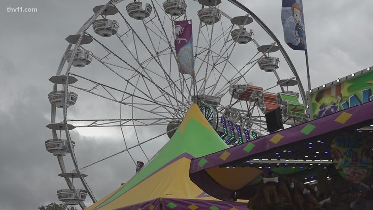Arkansas State Fair sees successful opening day after pandemic hiatus