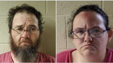 2 arrested after 3-year-old dies from severe injuries in Lonoke County