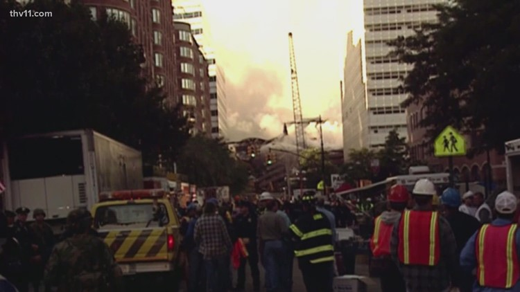 Arkansas reverend who helped others seek shelter during 9/11 attacks shares his story