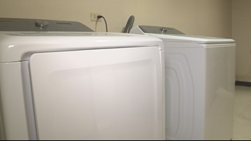 Pine Bluff School District believes donated washer and dryer will help student achievement