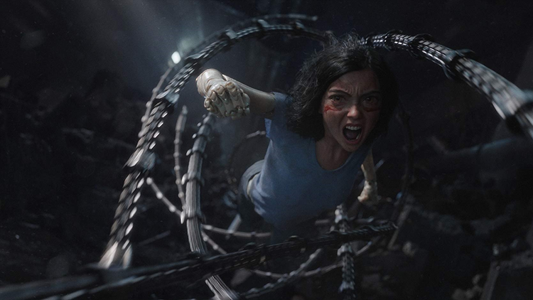 There's no ending in Alita: Battle Angel, only a sequel setup