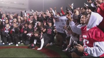Searcy hangs on to beat Benton 28-27 in 6A title game