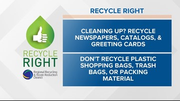 Recycle Right Tips | Week Forty-five