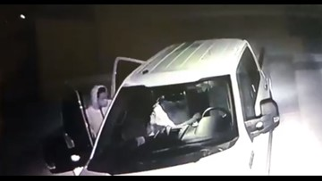 Bryant police need help identifying 5 suspects breaking into unlocked vehicles