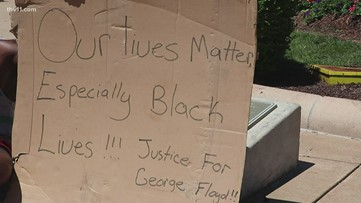 Little Rock protesters believe damage left is no match to injustices dealt with every day