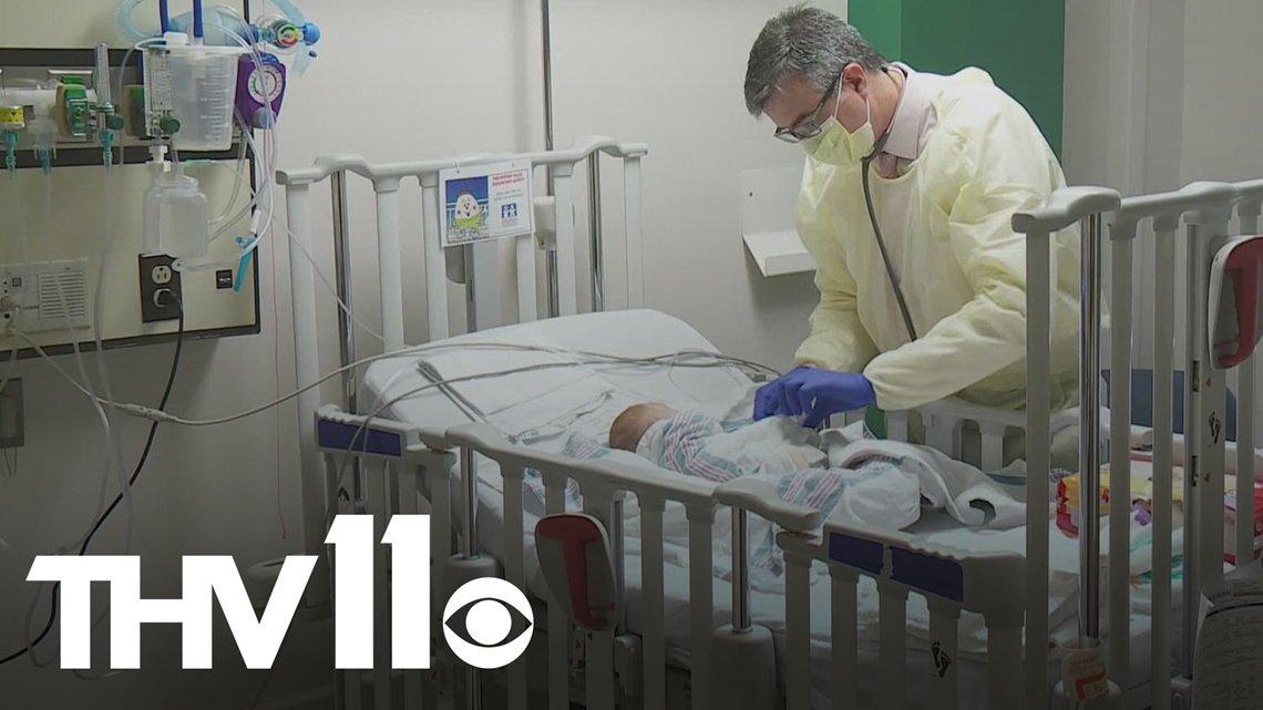 RSV cases in Arkansas on the rise during 'off-season'